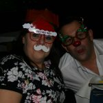 Looking very seasonal and in the spirit of Xmas at The Scubaco Xmas Party 2016